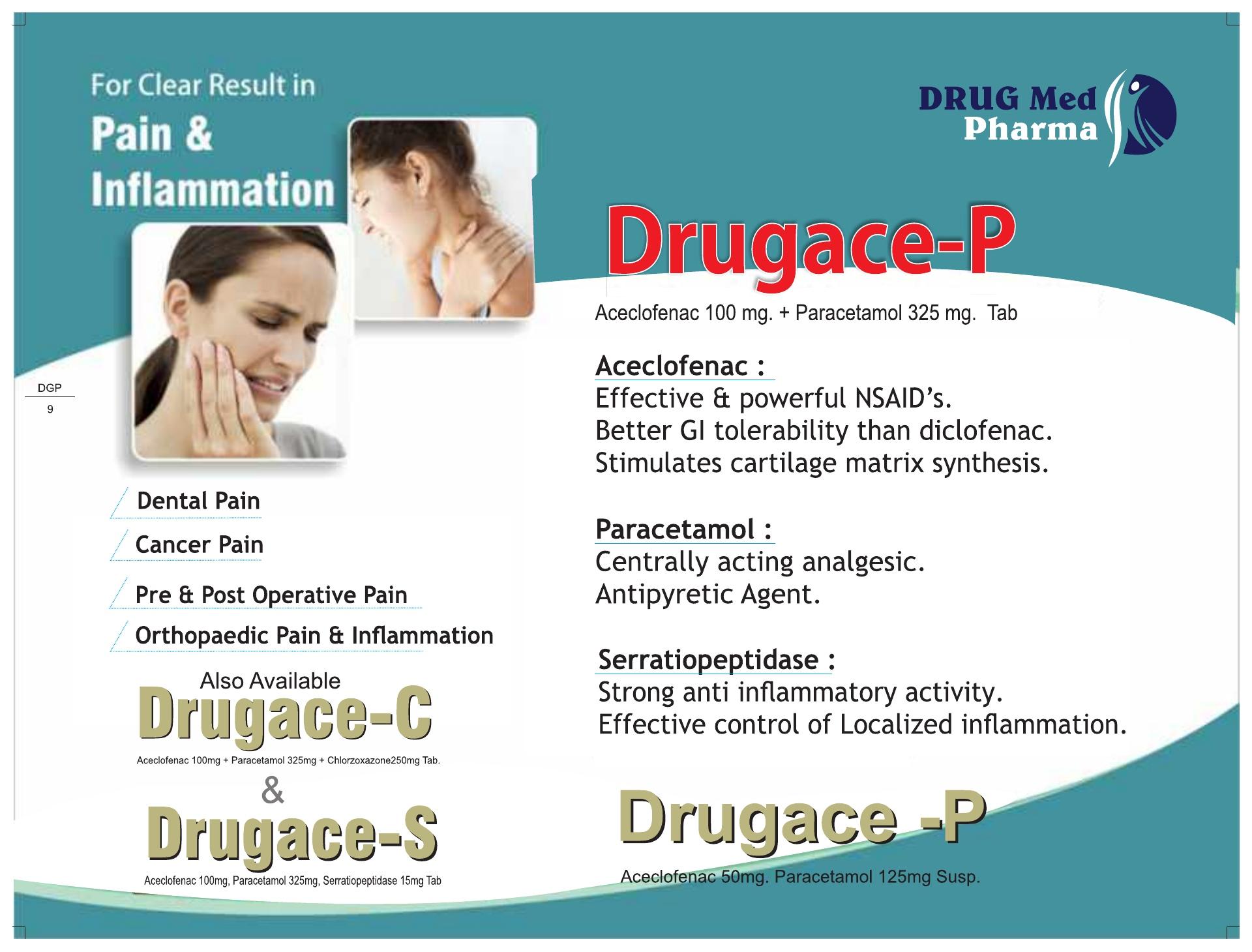 DRUGACE-P
