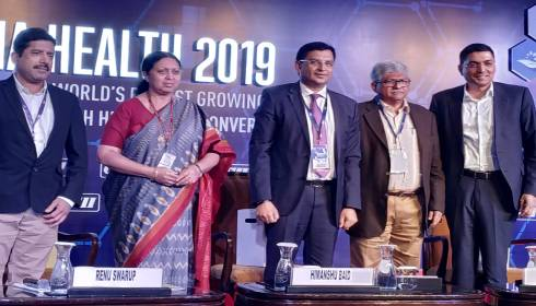 Mr Himanshu Baid at Asia Health-2019 in New Delhi